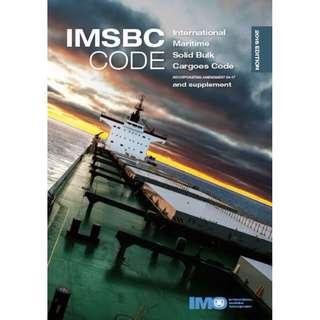 IMSBC Code 2018 Edition Books (IMO II260E)