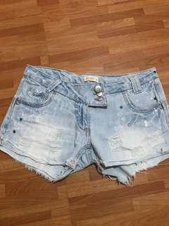 Calliope maong shorts