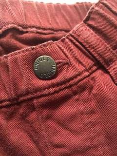 🚚 Uniqulo 男童褲「7成新」