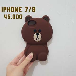 Brownie Rubber Case iPhone 7/8