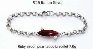 Ruby Zirco bracelet