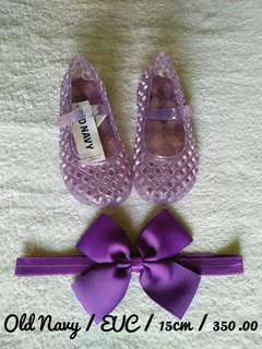 Old navvy jelly shoes