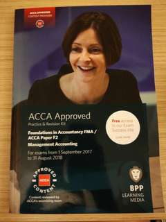 CAT-ACCA FMA/F2 Practice and Revision Kit