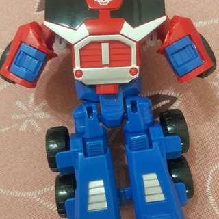 出清撿便宜~兒童玩具出清 變形金鋼機器人玩具車