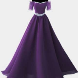Violet Gown ( Zachary )