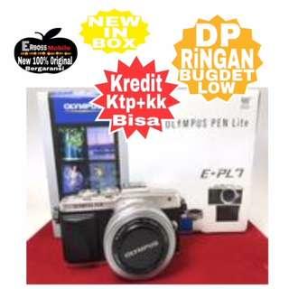 Olympus PEN E-PL7 kit 14-42mm EZ Resmi-kredit Dp 2jt ditoko ktp+kk wa;081905288895