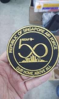 RSAF50 Badge