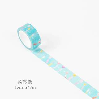 Only 1 Instock! (Mix & Match)*Nihon Wind Chimes Theme Washi Tape