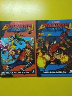 BOBOIBOY GALAXY VOL1&3