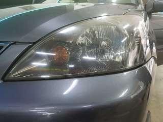 CS3 Headlight with black inner plate.