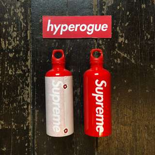 Fake Supreme Water Bottle - Just Me And Supreme