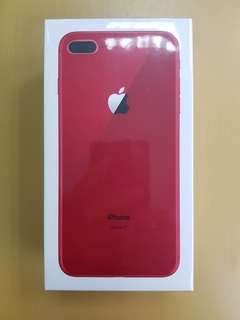 Special Edition Red IPhone 8 Plus 256gb