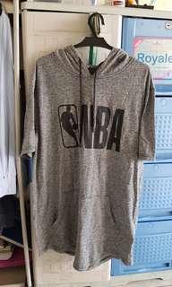 NBA shirt w/ hood