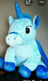 Plush Toys mega unicorn from Marina Bay Carnival