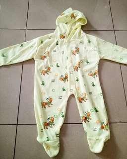Jumper baju tidur bayi 3-6 bulan