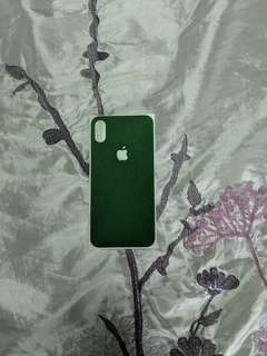 dBrand green skin for iPhone X