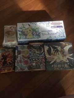 Pokemon Japanese packs