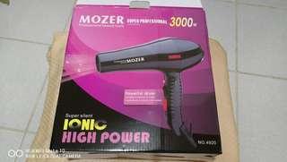Mozer Professional Heavy Duty Hair Dryer