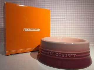 Le Creuset LC dog bowl pink M size