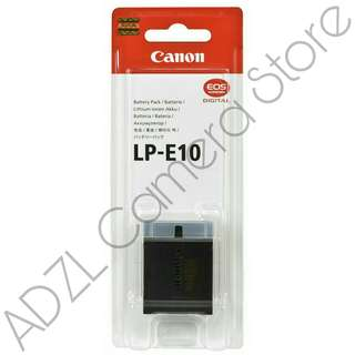 Battery Canon LP-E10 Original (EOS 1100D, 1200D, 1300D, DLL) Baru