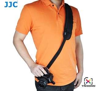 JJC NS-J2 Quick Release Professional Shoulder Strap with Aluminium Plate tripod mount for Camera DSLR