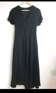 Black Nursing Dress