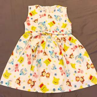 Tsum tsum Pooh dress