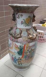 大 花瓶 古董 古舊 古典 經典 二手