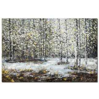Winter Nature Oil Painting