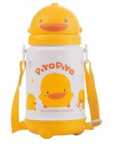 黃色小鴨 滑蓋保溫保冷水壺420ml