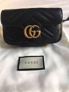 Gucci Marmont Super Mini Black