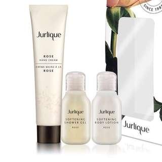 Jurlique 皇牌玫瑰系列小套裝Rose Hand Cream + Shower Gel + Body Care Lotion
