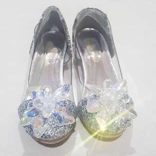 (NEW) Cinderella Glass Slippers (jimmy choo inspired)
