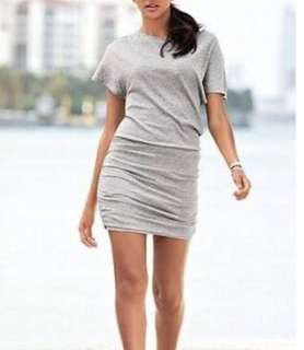 Charity Sale! Authentic Victoria's Secret Off Shoulder Grey Stretchy Women's Size Small Dress