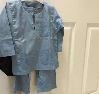 (Clearance!!!) Preloved Toddler Baju Melayu