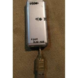 4阜 USB HUB