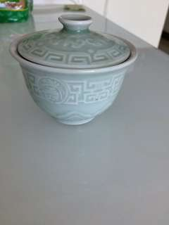 Green Chinese teacup