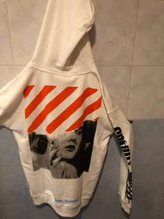 Fake Off White Hoodie