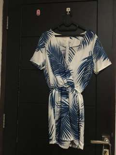 New Palm Jumpsuit (Jual Rugi)