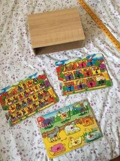 Wooden Set Puzzle