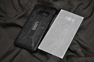 UAG Plasma Ash Dbrand Skin S8+ plus