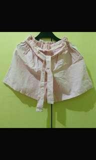 Baby Pink Korean Shorts
