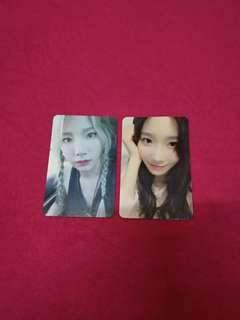 Snsd Girls' Generation Taeyeon Why & My Voice: Deluxe Edition photocard