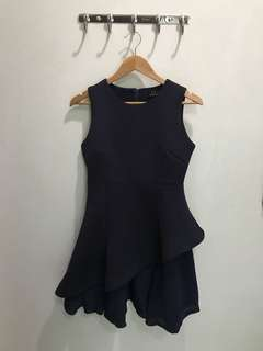 FR - Flowy Navy Dress