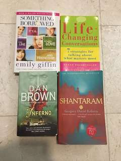 All 4 books in $10