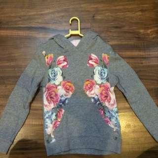 K4-H&M Floral Hoodie/Jacket