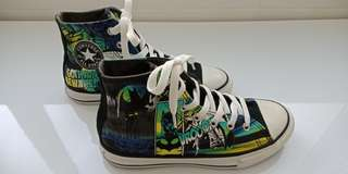 CONVERSE HIGH TOP batman-sz US 3