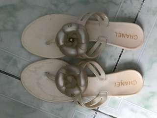 "REPRICED!! ""Chanel"" slippers/ sandals/ thongs/ slip ons"