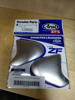 Ready Stock Arai Ram 3 Earlid Silver