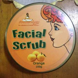 Facial Scrub Orange (100G)